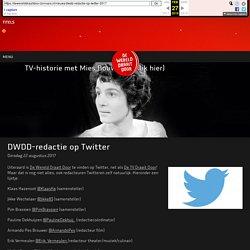 DWDD-redactie op Twitter