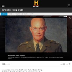 Dwight D. Eisenhower - U.S. Presidents