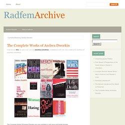 Radical Feminist Archives