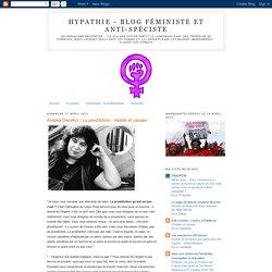 Andrea Dworkin - La prostitution : réalité et causes