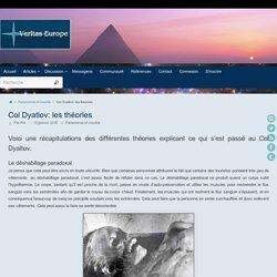 Col Dyatlov: les théories ~ Veritas-Europe