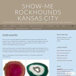 Show-Me Rockhounds Kansas City