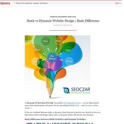 Basic Differ... - Website Designing Services - Quora