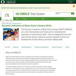 Dynamic Indicators of Basic Early Literacy Skills