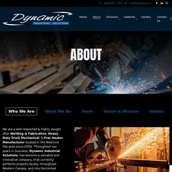 About - Dynamic Industrial Solutions