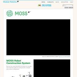 MOSS - The Dynamic Robot Construction Kit