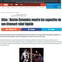 Atlas : Boston Dynamics montre les capacités de son étonnant robot bipède