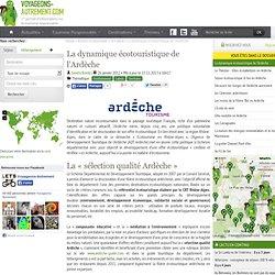 La dynamique écotouristique de l'Ardèche