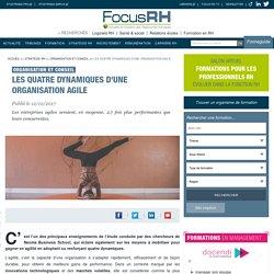 Les quatre dynamiques d'une organisation agile - Organisation et conseil