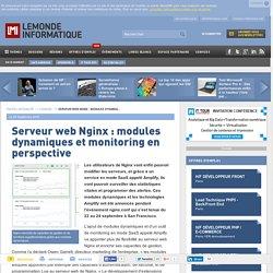 Serveur web Nginx : modules dynamiques et monitoring en perspective