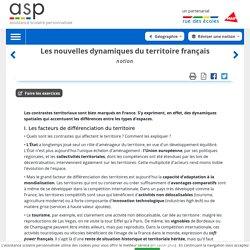 Les nouvelles dynamiques du territoire français internet