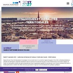 France Stratégie : 2017/2027 Dynamiques et inégalités territoriales
