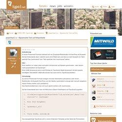 powermail 2.x - Dynamischer Text auf Antwortseite