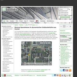 Brørup Sparekasse in dynamischer Gebäudehülle aus Corian