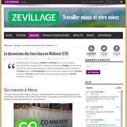 Espaces de coworking et télétravail en Belgique (1/3) : Mons et Namur