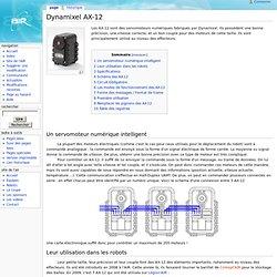 Dynamixel AX-12 - AIRwiki
