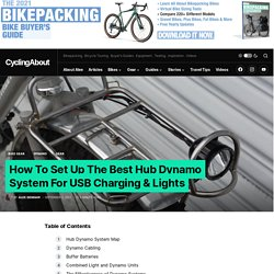 How To Set Up The Best Hub Dynamo System For USB Charging & Lights - CyclingAbout
