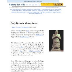 Early Dynastic Mesopotamia