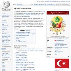 Dynastie ottomane