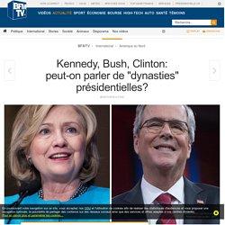 Kennedy, Bush, Clinton: peut-on parler de « dynasties » présidentielles?