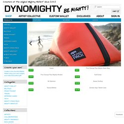 Dynomighty Design - Home of the Mighty Wallet, Desk Dots and other Great Gadgets, Gifts and Accessories