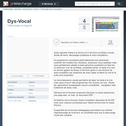 Dys-Vocal - Telecharger gratuit