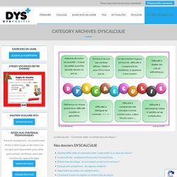 Dyscalculie - DYS-POSITIF