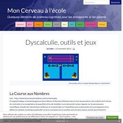 Dyscalculie, outils et jeux