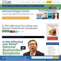 One Fix for Adrenal Dysfunction Symptoms: Exercise!