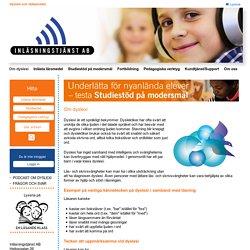 Dyslexi och Hjälpmedel