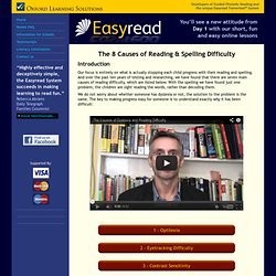 Dyslexia & Helping with Reading Difficulty