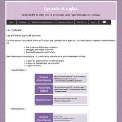 La Dyslexie : Les différents types de dyslexie