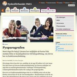 Dyslexiförbundet FMLS - om räkne-, läs- och skrivsvårigheter