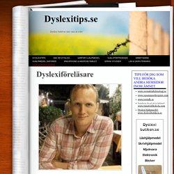 Dyslexiföreläsare