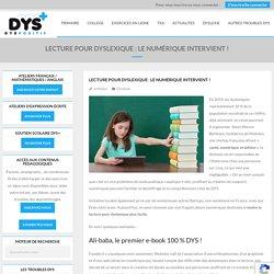 Numérique et lecture - dys