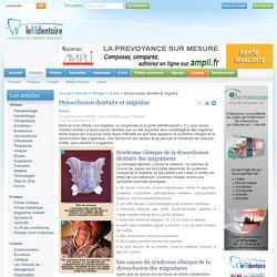 Dysocclusion dentaire et migraine - Le Fil Dentaire - Le portail du monde dentaire