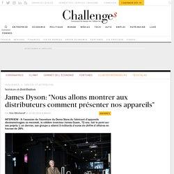 Dyson ouvre son magasin à Paris