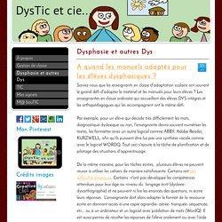 Dysphasie et autres Dys - Site de dysticetcie !