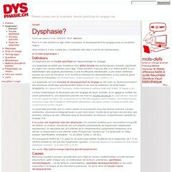 Dysphasie.ch