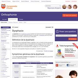 Dysphasie: définition et symptômes de la dysphasie