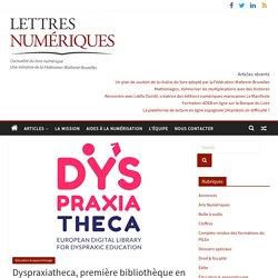 Dyspraxiatheca, première bibliothèque en ligne à destination des enfants dyspraxiques