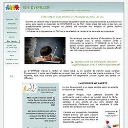 DYSPRAXIE ET ASPECTS PSYCHOSOCIAUX