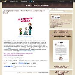 La dyspraxie verbale - Aider et mieux comprendre son enfant