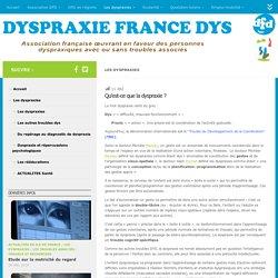 Dyspraxie France DYS