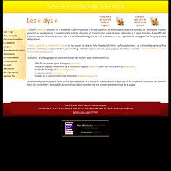 www.dyslexie.fr - www.dysproprioception.fr - Site sur le traitement proprioceptif de la dyslexie de développement