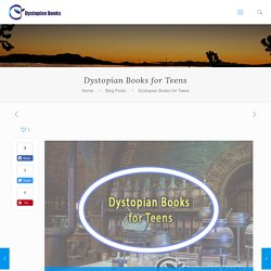Buy Dystopian Books For Teens