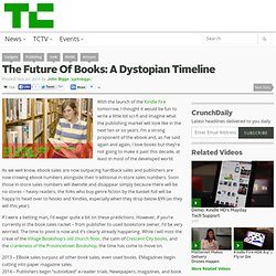 The Future Of Books: A Dystopian Timeline