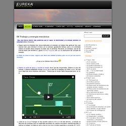 ¡E U R E K A! » 09 Trabajo y energía mecánica