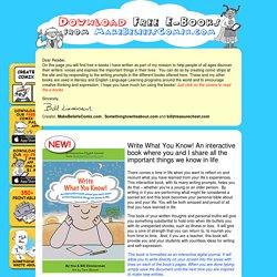 e-Books from Bill Zimmerman