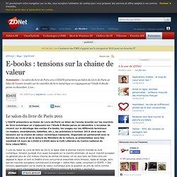 E-books : tensions sur la chaine de valeur